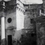 Бывший Екатерининский собор, где, по некоторым сведениям, происходила кремация расстрелянных. Начало 1990-х годов.